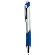 Druckkugelschreiber Leon, blau