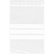 Druckverschlussbeutel, mit Beschriftungsfeld & Verschlussleiste, 170 x 120 mm