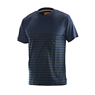 Dry tech t-shirt marine/schwarz 3XL
