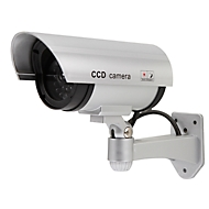 Dummy camera Bewakingscamera Attrappe Olympia DC 400, met LED knipperlicht