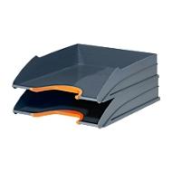 DURABLE Ablagekorb VARICOLOR, DIN C4, Kunststoff, 2 Stück, orange