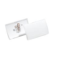 DURABLE Click Fold badges met clip; 40 x 75 mm