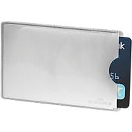 Durable creditcardhoesjes RFID SECURE, beschermd tegen onbevoegd inlezen, 10 stuks