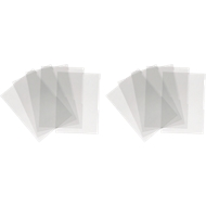 DURABLE Folderhoezen  A3, glad, 10 stuks