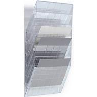 DURABLE folderhouder Flexiboxx 6, 6 vakken, A4, liggend, transparant