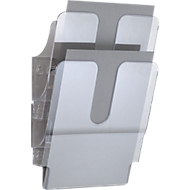 DURABLE folderhouder Flexiplus 2, 2 vakken, A4, hoog, transparant
