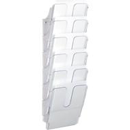 DURABLE folderhouder Flexiplus 6, 6 vakken, A4, hoog, transparant