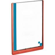 DURABLE Info-Display CLICK SIGN, 210 x 297 mm, rot, 5 Stück