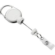 Durable Jojo Extra Strong, für schwere Kartenhalter o. Schlüssel, mit Clip, L 600 mm, weiß