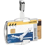 Durable kaartenhouder RFID Secure Duo, voor 2 kaarten, met clip-bevestiging, 10 stuks