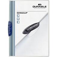 DURABLE klemmap Swingclip, A4, PP, met clip, donkerblauw