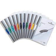 DURABLE Klemmmappe Swingclip, DIN A4, PP, mit Clip, farbig sortiert