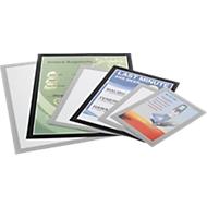 DURABLE magneetlijst Duraframe, A5, zilver, 10 stuks