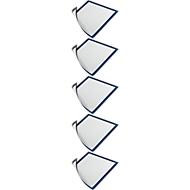 DURABLE magneetlijst DURAFRAME MAGNETIC, A4, blauw, 5 stuks