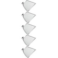 DURABLE magneetlijst DURAFRAME MAGNETIC, A4, zilver-metallic, 5 stuks