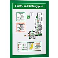 DURABLE Magnetrahmen Duraframe, DIN A4, 10 Stück, grün