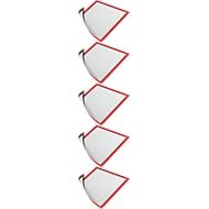 DURABLE Magnetrahmen DURAFRAME MAGNETIC, DIN A3, rot, 5 Stück