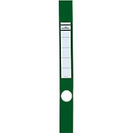 DURABLE Ordnerrückenschilder Ordofix, Rückenbreite 40 mm, selbstklebend, 10 Stück, grün