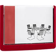 DURABLE panneaux pour porte CLICK SIGN, 149 x 105,5 mm, rouge, 5 pièces