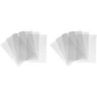 DURABLE Pochettes coin A3, brilliantes, transparentes, 1 paquet de 100 pièces