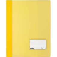 DURABLE Premium-Sichthefter, für DIN A4, Hart-PVC, 25 Stück, gelb