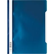 DURABLE snelhechtmap met snelhechter, A4, polypropeen, 50 st., blauw