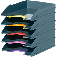 DURABLE sorteerbak VARICOLOR, C4, kunststof, 5 stuks