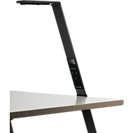 Durable werkbladlamp LUCTRA® FLEX, zwart