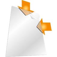 DURABLE zichtmap, A4, 10 stuks, transparant