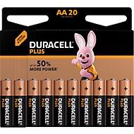 DURACELL® Batterijen Plus, Mignon AA, 1,5 V, 20 stuks