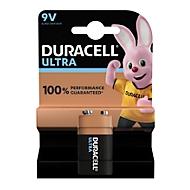 DURACELL® batterijen ULTRA, E-Block, 9 V, per stuk,