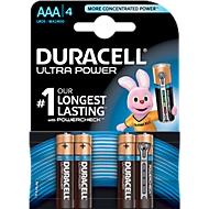 DURACELL® batterijen ULTRA, micro AAA, 1,5 V, 4 stuks