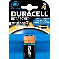 DURACELL® pile alcaline ULTRA POWER, type Bloc E, 9 V, par pièce