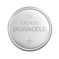DURACELL® pile bouton CR 2450, 3 V, 1 pièce