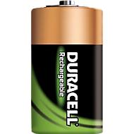 DURACELL® piles rechargeables, type Baby C, 1.2 V, 2200 mAh, paquet de 2