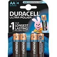 DURACELL® piles ULTRA M3, Mignon/LR06, 4 pièces