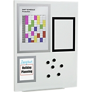 DURAFRAME® Magnetic Board, beschreibbar, 600 x 450 mm