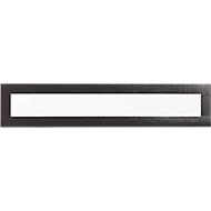 DURAFRAME® Magnetic TOP, Magnetrahmen f. Überschriften, A3 Hoch-/A4 Querformat, schwarz, 5 St.