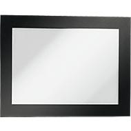 Duraframe® Magnetrahmen A6, selbstklebend, 2 St., schwarz