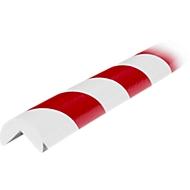 Eckschutzprofil Typ A, 1-m-Stück, weiß/rot