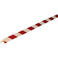 Eckschutzprofil Typ E, 1-m-Stück, weiß/rot