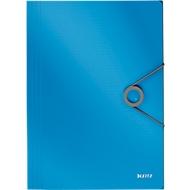 Eckspannermappe Leitz Solid, Format DIN A4, für bis zu 150 Blatt, hellblau