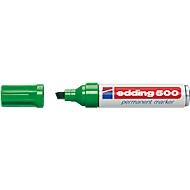 edding 500, m. Keilspitze 2-7 mm, grün, 10 Stück