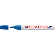 edding 8300 industry permanent marker, blau, 10 Stück