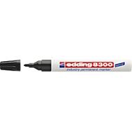 edding 8300 industry permanent marker, schwarz, 10 Stück