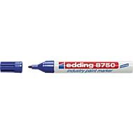 edding 8750 industry paint marker, blau, 10 Stück