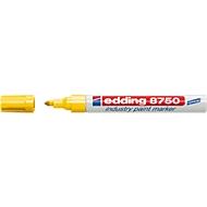 edding 8750 industry paint marker, gelb, 10 Stück