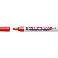 edding 8750 industry paint marker, rot, 10 Stück