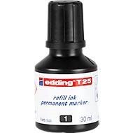 edding encre de recharge T25, noir
