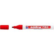 EDDING Lackmarker 750, 2-4 mm, rot, 1 Stück